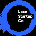 Lean start up company logo